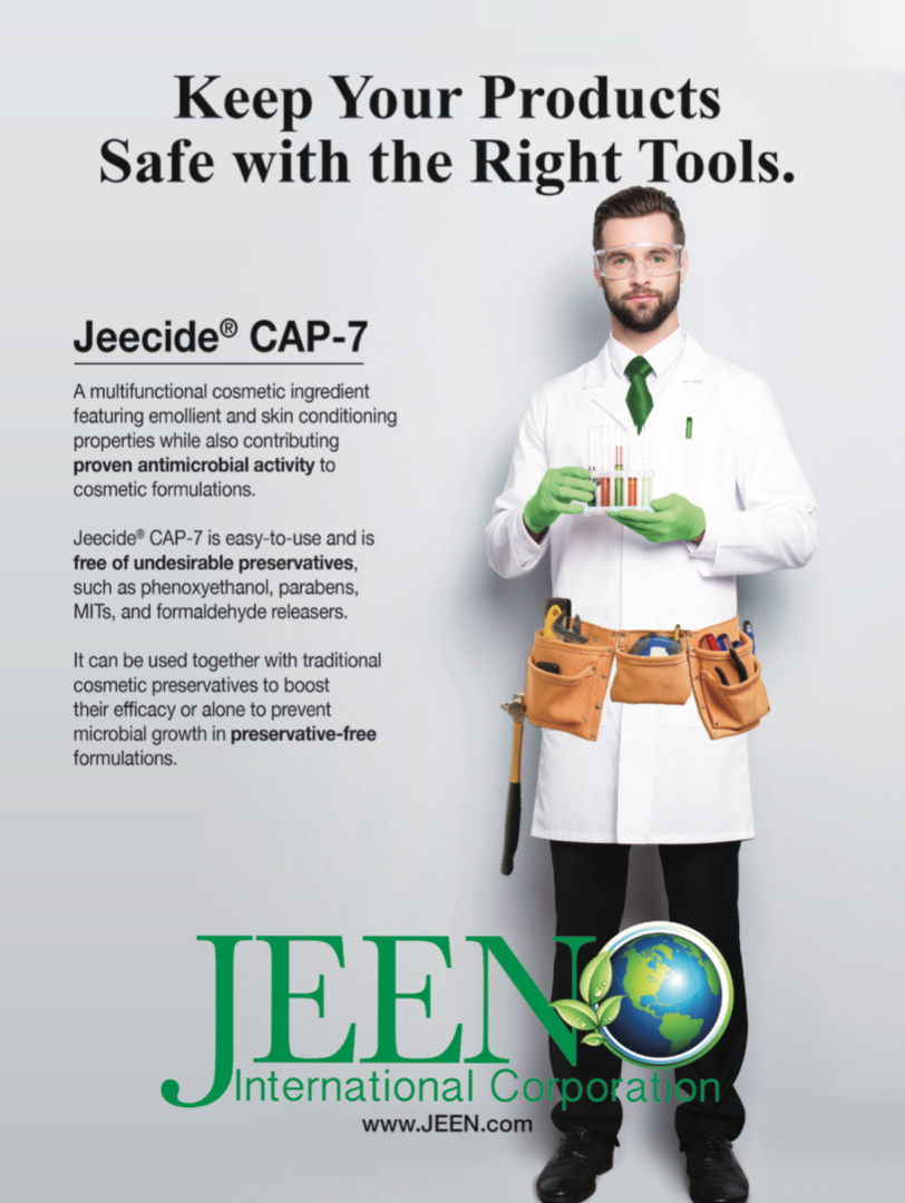 JEECIDEⓇ CAP-7 -  The latest of our preservation systems., JEEN International Corporation
