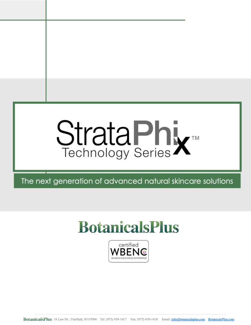 StrataPhix by Botanical Plus- The next generation of advanced natural skincare solutions., JEEN International Corporation